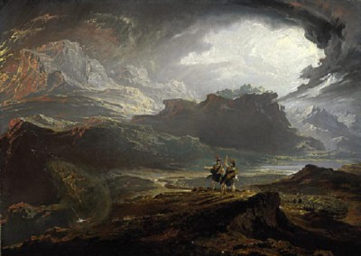 """Battle of Dunsinane"" by John Martin, currently held by the National Galleries of Scotland."