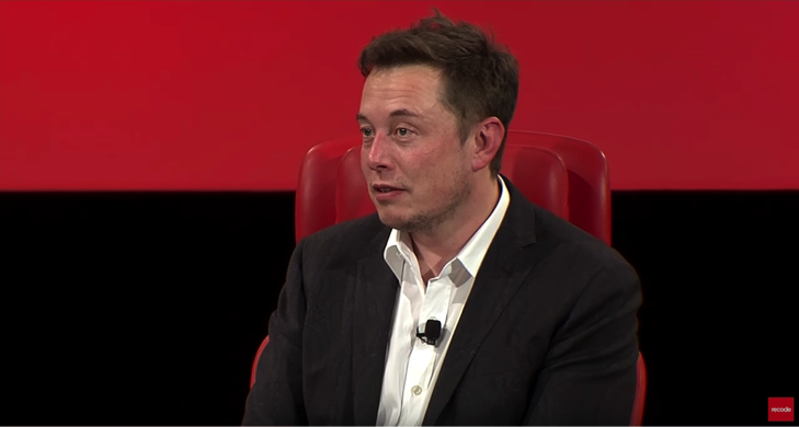 SpaceX founder and CEO Elon Musk speaks at the third annual  Recode Code Conference .