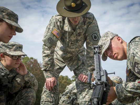 U.S. Army Drill Instructor (Sgt. Ken Scar, U.S. Army Photo)