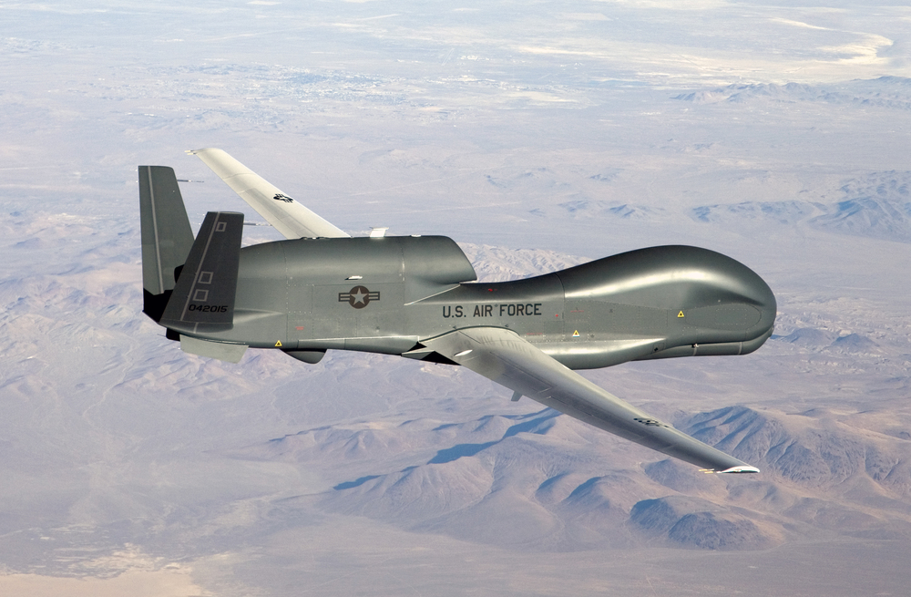 RQ-4 Global Hawk (Bobbi Zapka, U.S. Air Force Photo)