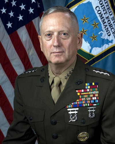 Gen James Mattis, as Commander, U.S. Joint Forces Command and Supreme Allied Commander Transformation, NATO