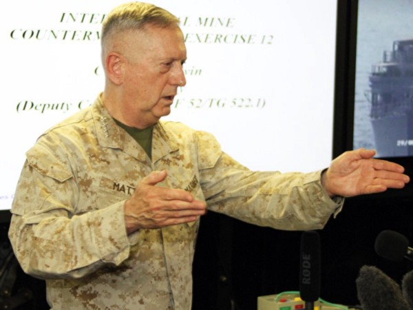 General James Mattis, as Commander, U.S. Central Command (Robert Johnson)