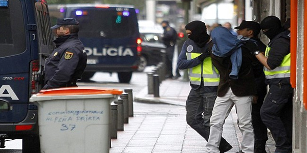 Three people from Pakistan were arrested in Spain on 1 July 2016, accused of promoting Islamist militancy. (Reuters)