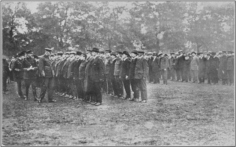 Battalion Hyde Park, October 1914