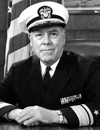 Rear Admiral J.C. Wylie, U.S. Navy (Retired) (Photo Courtesy U.S. Naval Institute)