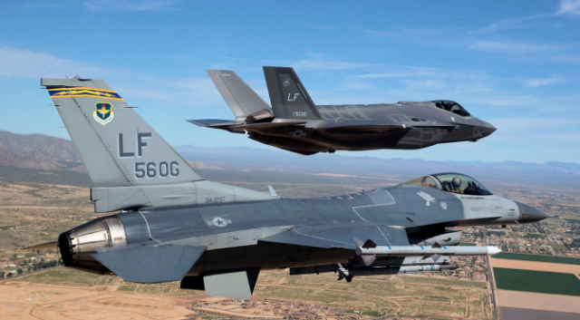 The F-35 is expected to replace the F-16, among other aircraft types. (U.S. Air Force Photo)