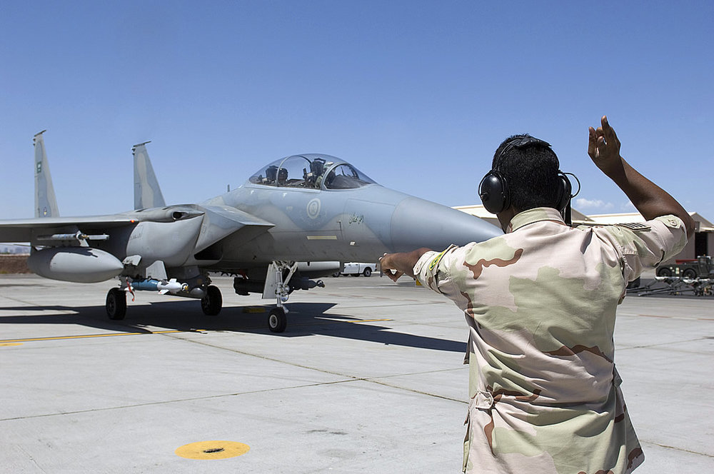 Royal Saudi Air Force F-15S at Red Flag (Defense Industry Daily)