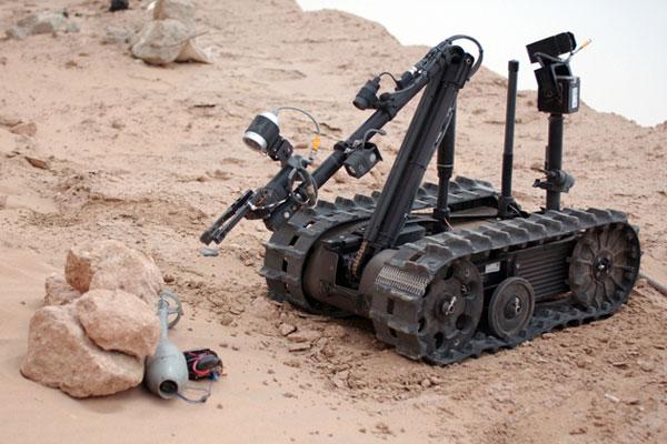 TALON Tracked Military Robot (Army- Technology.com)