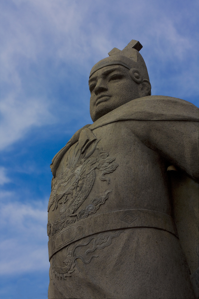 Monument to Admiral Zheng He in Melaka, Malaysia (Hasaan Saeed/Wikimedia)
