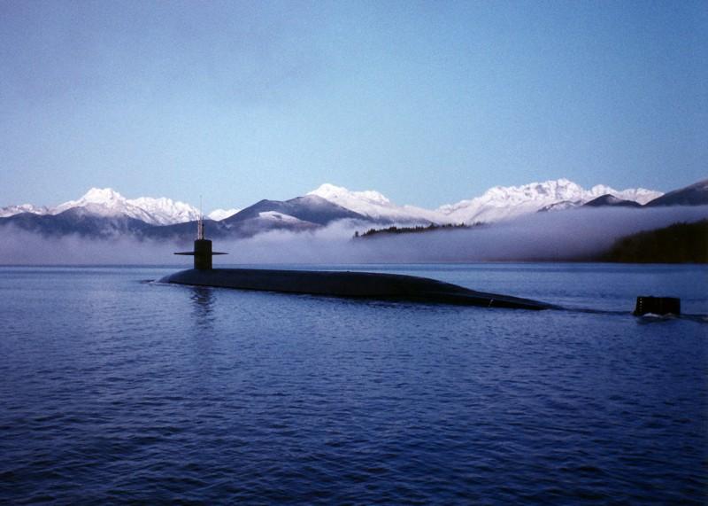 Ohio-Class SSBN, US Navy (Wikipedia Commons)