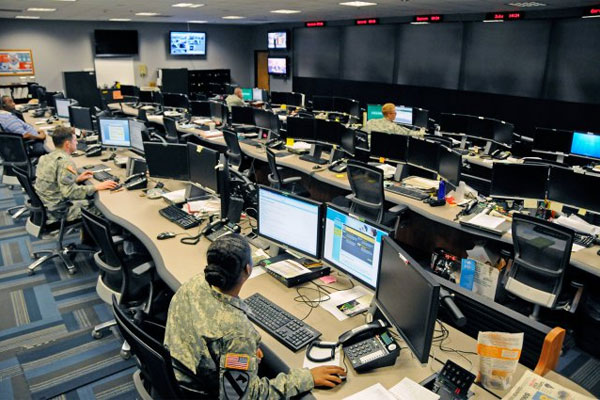 The Cyber Operations Center on Fort Gordon, Ga. (U.S. Army photo)