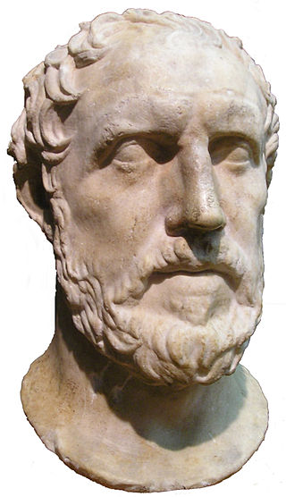 Bust of Thucydides from the Royal Ontario Museum. (Wikimedia)