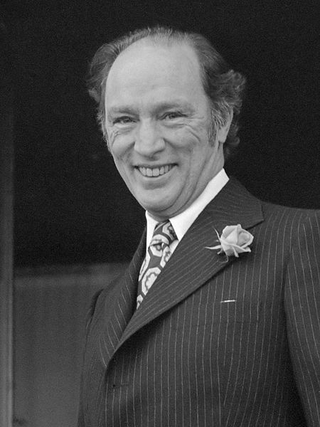 Prime Minister Pierre Trudeau (Wikimedia)