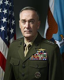 General Joseph Dunford, Jr., Chairman of the Joint Chiefs of Staff (Wikimedia Commons)