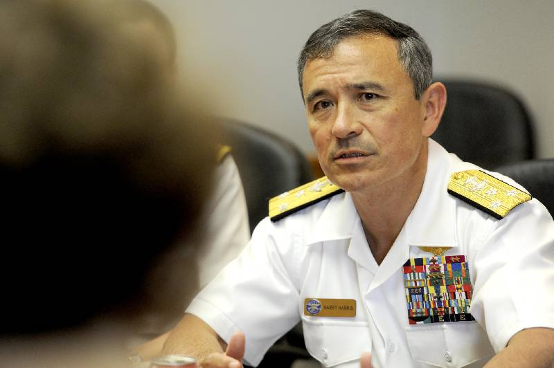Admiral Harry B. Harris (Japanese.China.Org.Cn)