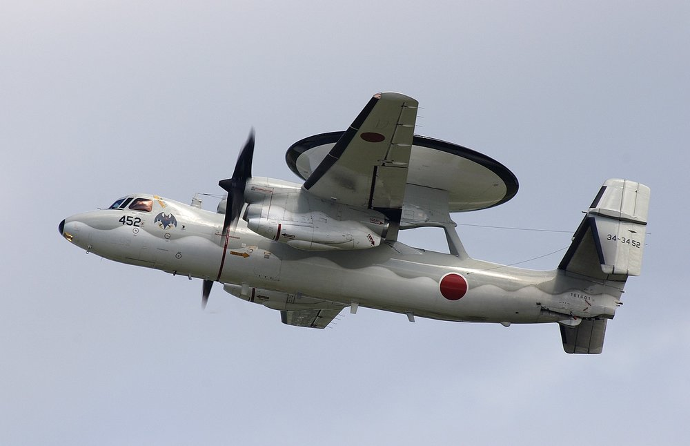 Japanese E-2C Hawkeye (JASDF Photo)