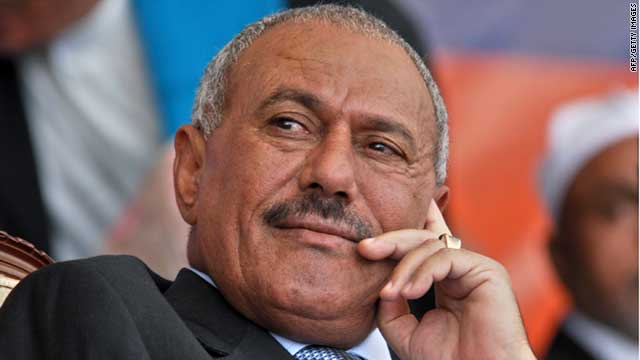 Former Yemeni President Ali Abdullah Saleh ( AFP/Getty Images )