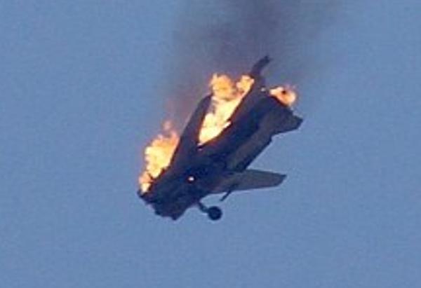 Russian Su-24 shot down by Turkey. (Joseph H. Dempsey/The Aviationist)