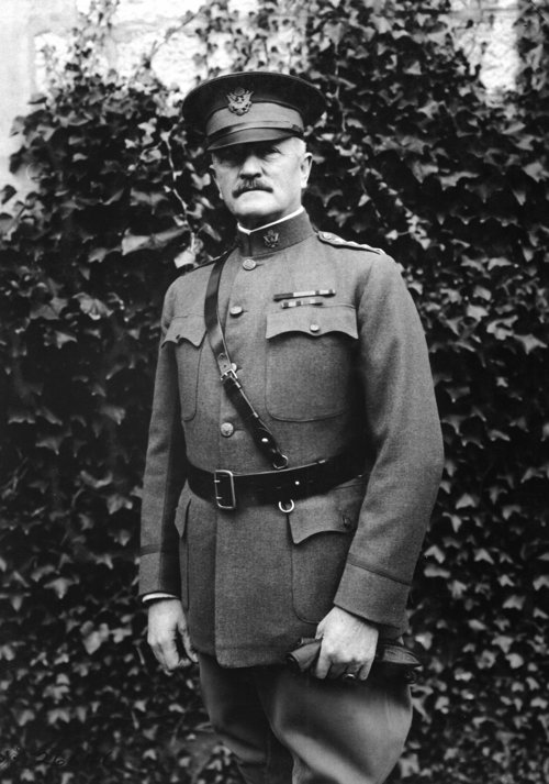 General John Pershing. General Headquarters, Chaumont France (Wikimedia)