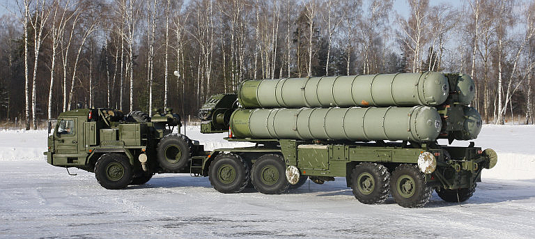 S-400 TEL (Air Power Australia)