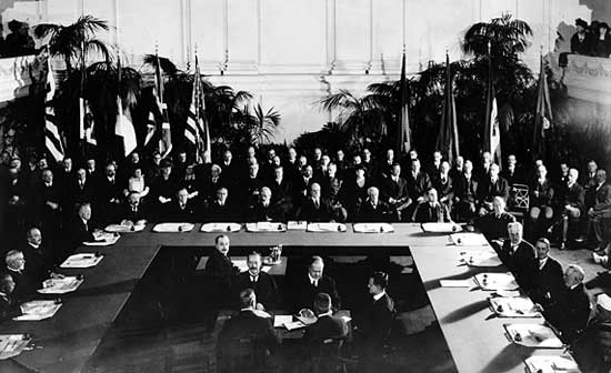Washington Conference, Washington, D.C., 1921. (Library of Congress)