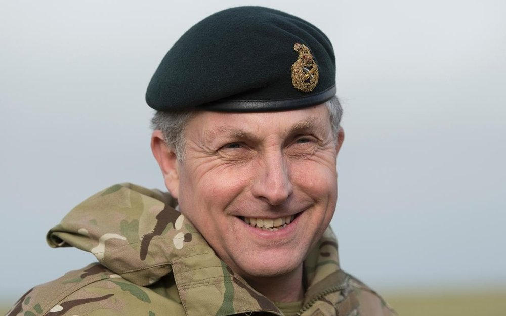 General Sir Nick Carter | Eddie Mulholland