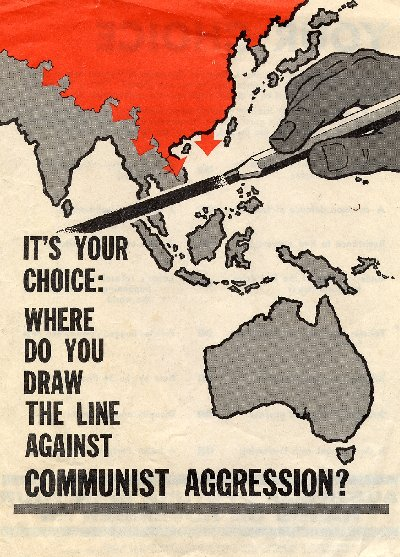 Election poster used by the Australian Liberal Party in 1966. (War Room)