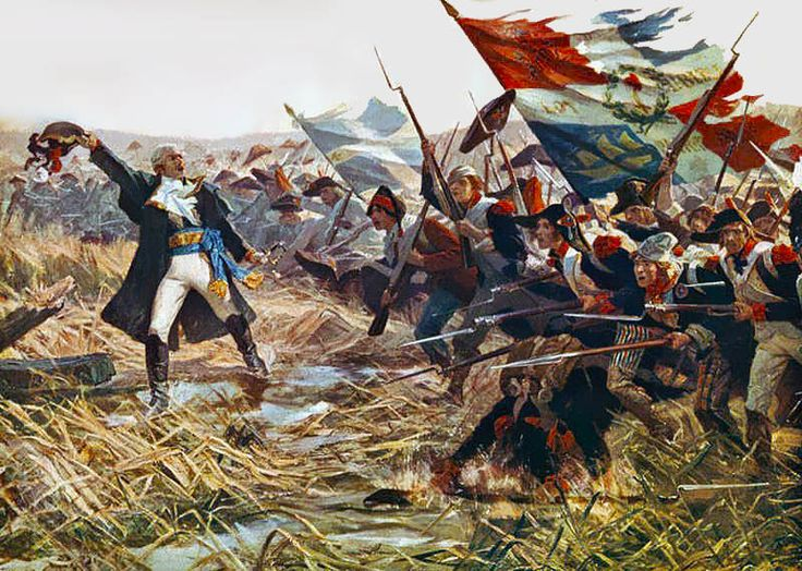 Bataille de Jemmapes 1792 (Wikimedia)