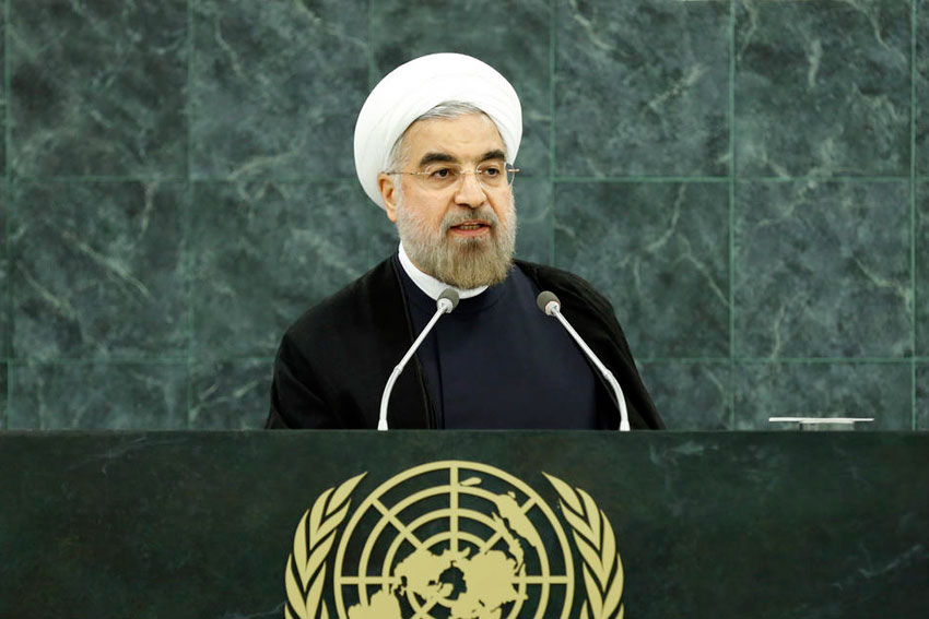 Hassan Rouhani, President of the Islamic Republic of Iran. (Sarah Fretwell/UN Photo)