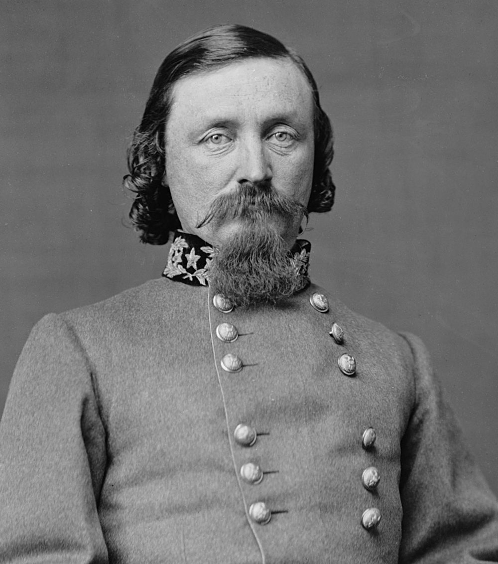Major General (CSA) George Pickett (Wikimedia Commons)