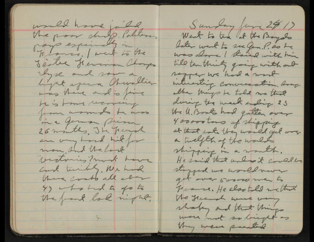 Patton's Diary