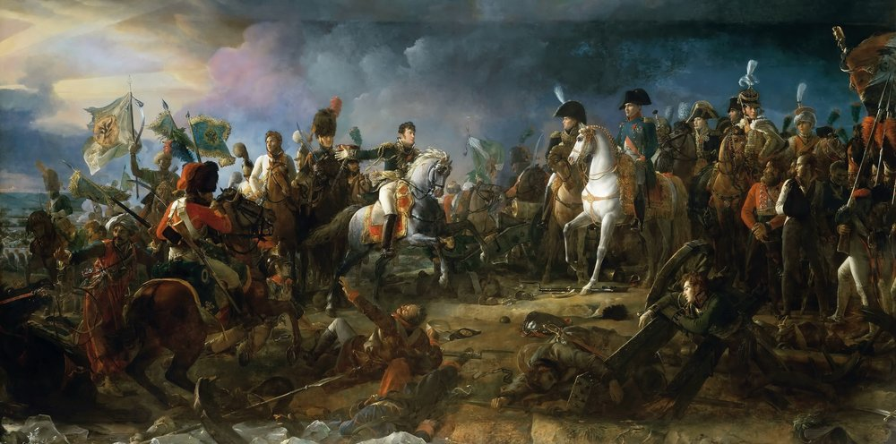 """The Battle of Austerlitz, 2nd December 1805"" by François Pascal Simon Gérard (Wikimedia)"