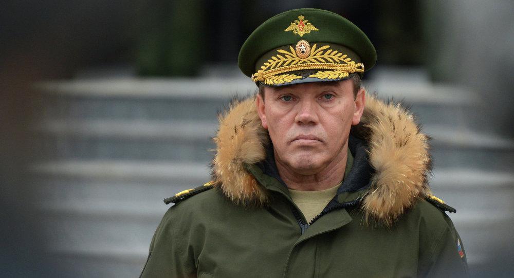 General Valery Gerasimov, the Deputy Defense Minister of Russia. (Sputnik/Evgeny Biyatov)