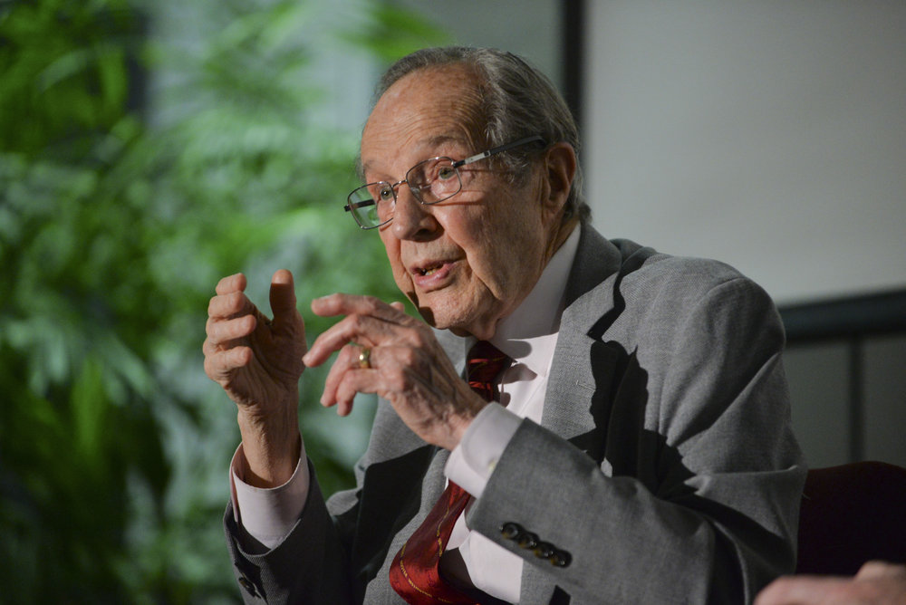 """We must deal with North Korea as it is, not as we wish it to be."" Former Secretary of Defense William Perry (Rod Searcy/The Japan Times)"
