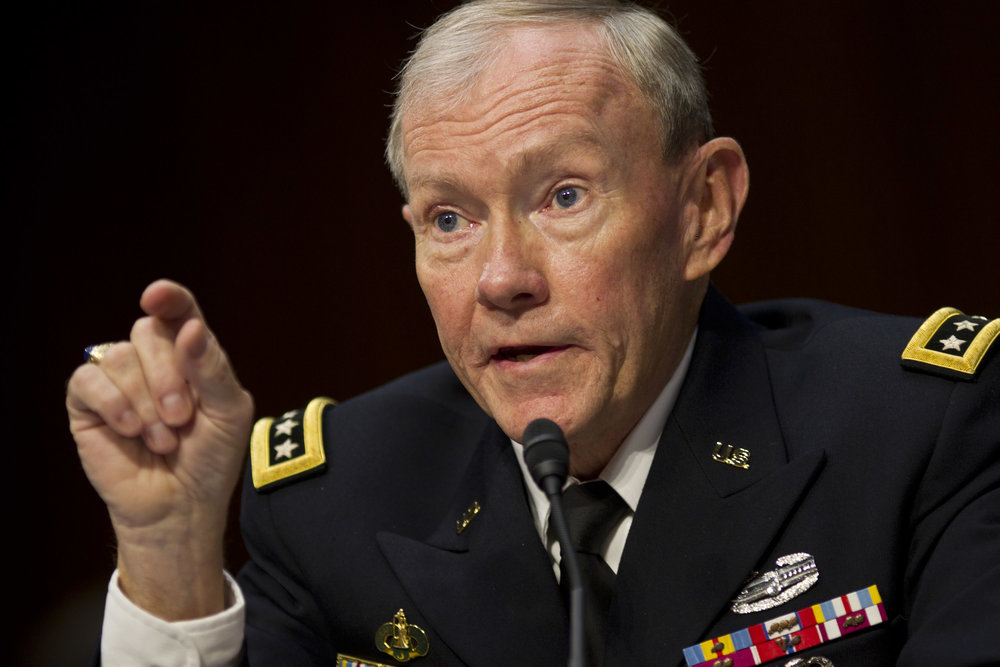 Gen. Martin Dempsey, as Chairman of the Joint Chiefs of Staff. (DOD photo)