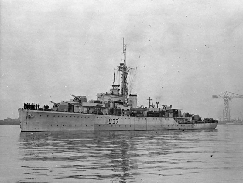 British sloop HMS Black Swan (Royal Navy Photo/Wikimedia)