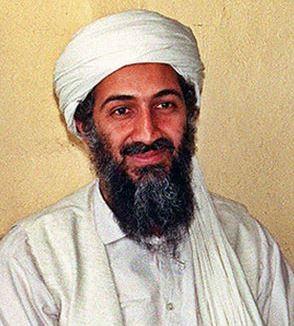 Osama bin Laden being interviewed by Hamid Mir (Hamid Mir/Wikimedia)