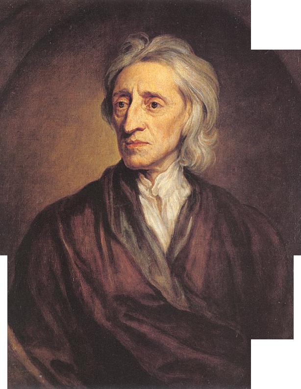 Portrait of John Locke, by Sir Godfrey Kneller. (Wikimedia)