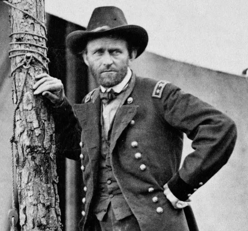 General Ulysses S Grant at Cold Harbor (Edgar Guy Fawx/Wikimedia)