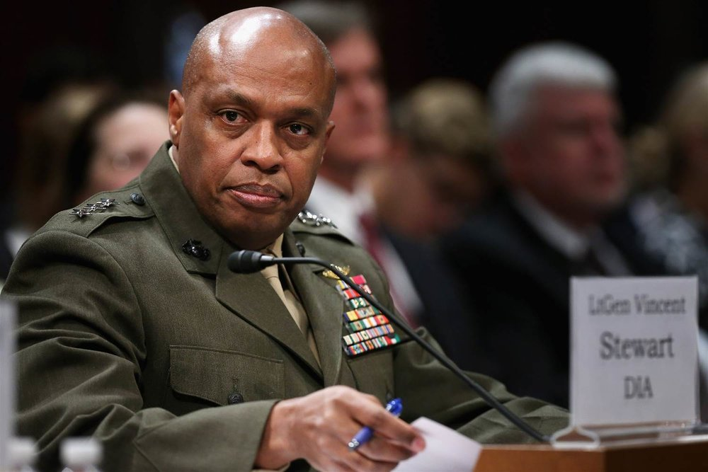 LtGen. Vincent Stewart testifies during an open hearing of the House (Select) Intelligence Committee on September 10, 2015 (Chip Somodevilla/Getty)