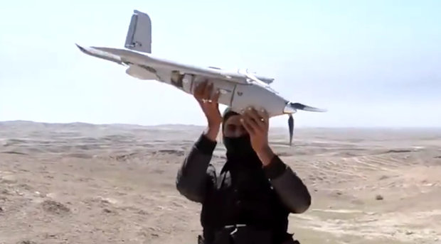 ISIS using drones. (Daily Star)