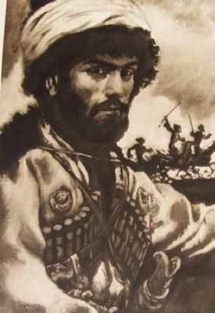 An illustration of Hadji Murad