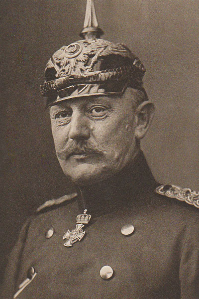 Helmuth von Moltke the Younger, Chief of the German General Staff (Wikimedia)