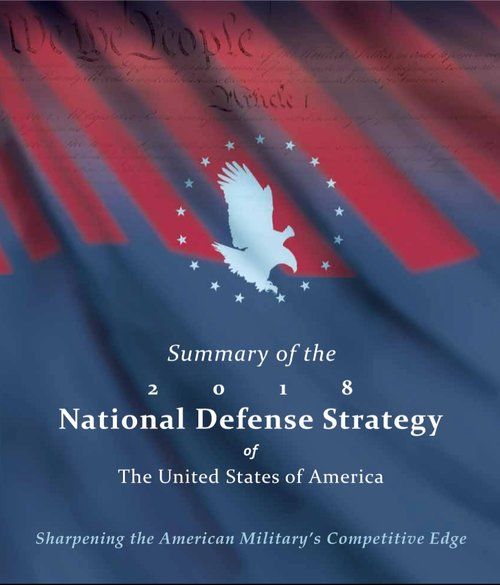 535e7f1a0 At this time of disruptive transitions, the new U.S. National Defense  Strategy rightly recognizes that the character of warfare is changing due  to the ...