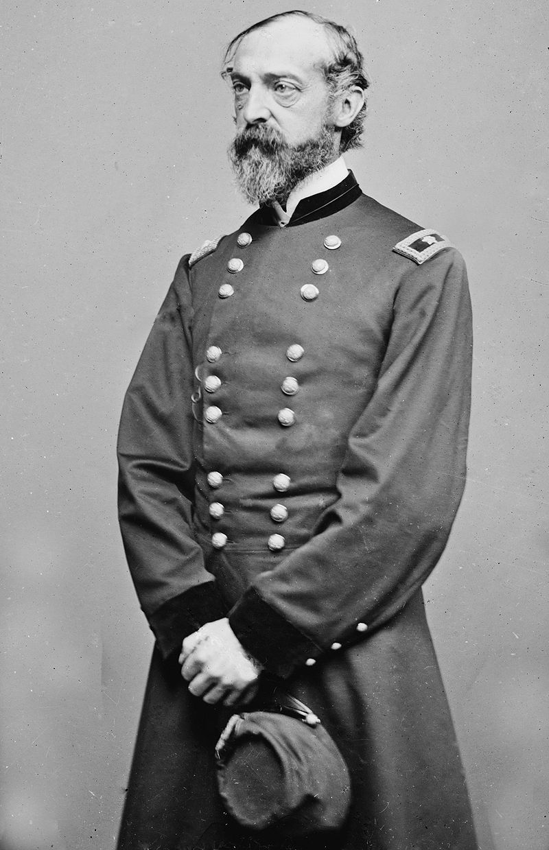 General George G. Meade, Photographed by Matthew Brady (Wikimedia)