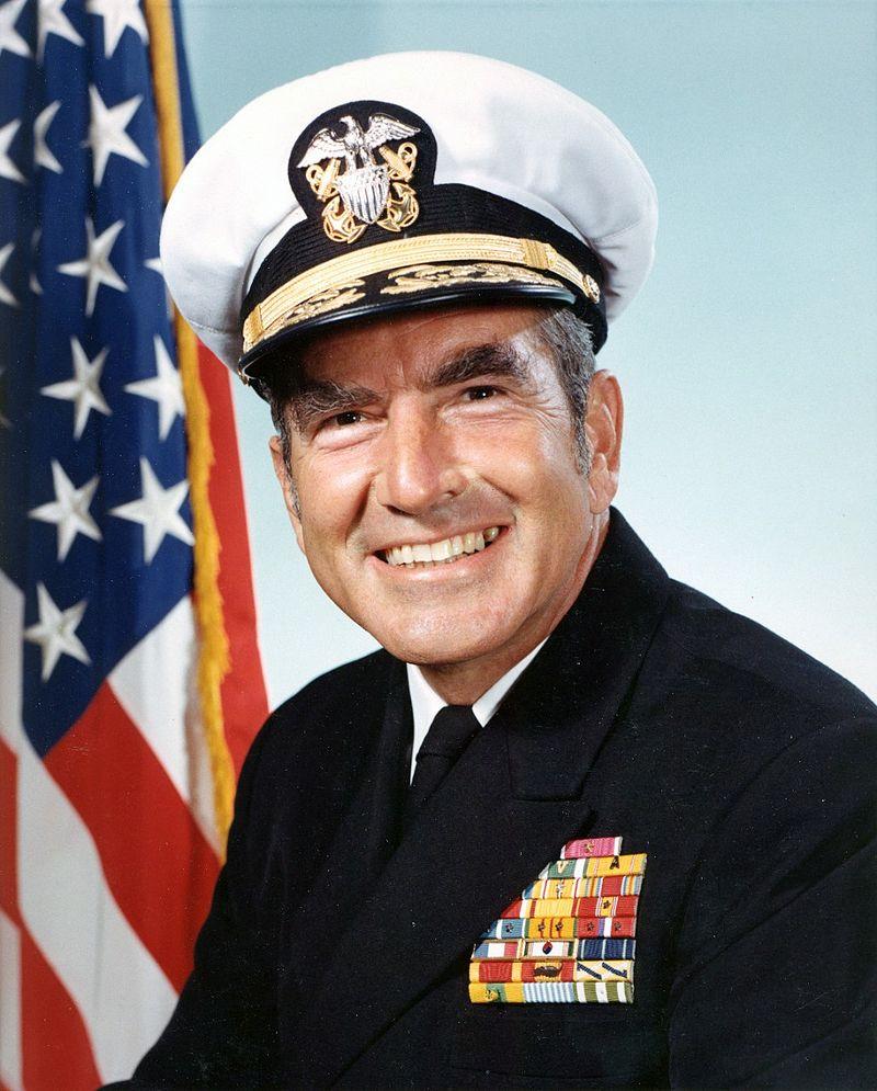 Admiral Elmo R. Zumwalt, Jr.(U.S. Navy Photo/Wikimedia)