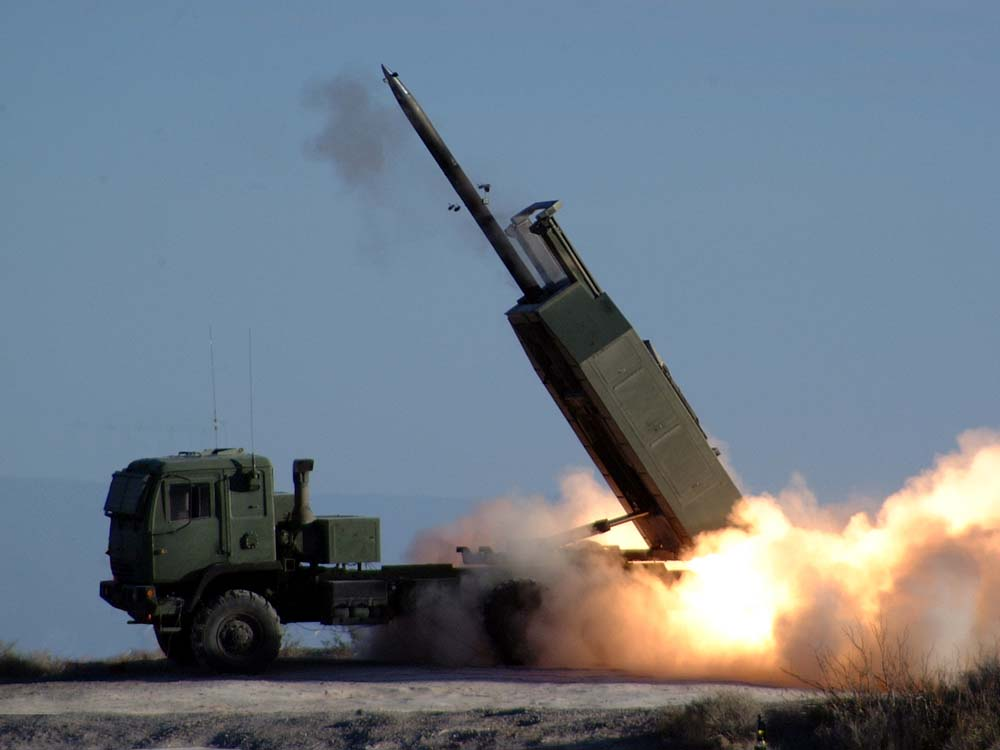 High Mobility Artillery Rocket System or HIMARS (U.S. Army Photo)