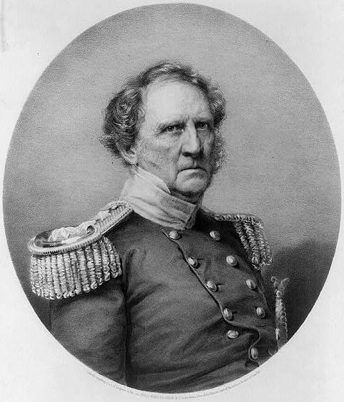 General Winfield Scott ( Wikimedia Commons )