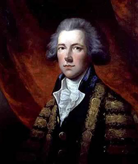 """William Pitt the Younger as Prime Minister of Great Britain"" by Thomas Gainsborough (Wikimedia)"