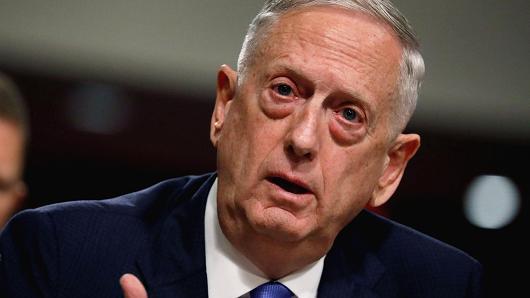 U.S. Secretary of Defense James Mattis (Reuters)